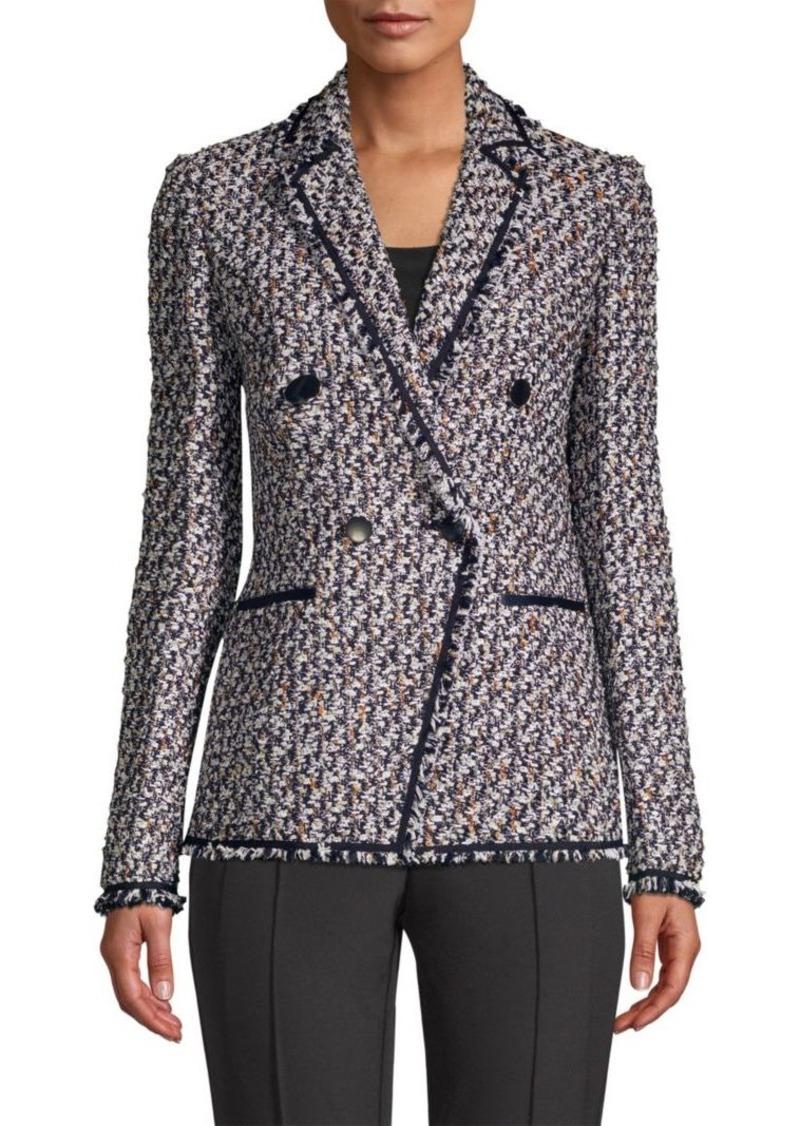 Lafayette 148 Devin Woven Blazer Jacket