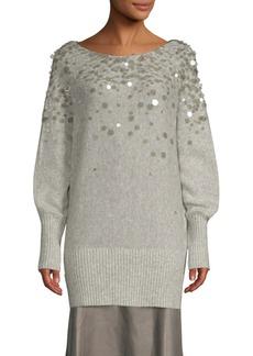 Lafayette 148 Dolman Pailette Sweater