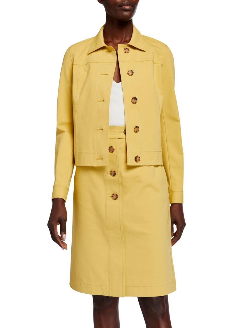 Lafayette 148 Donna Fundamental Stretch Jacket