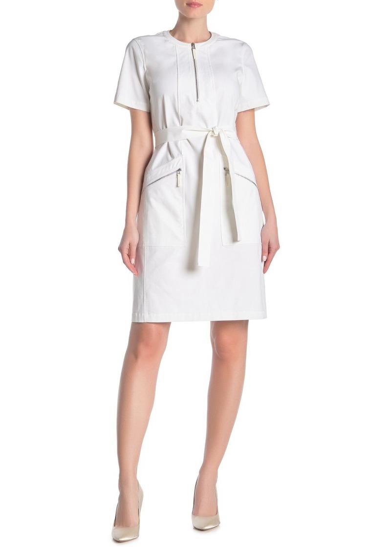 Lafayette 148 Eliziaella Tie Waist Dress