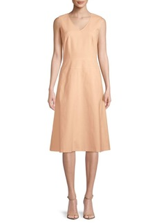 Lafayette 148 Emlia Sleeveless Day Dress