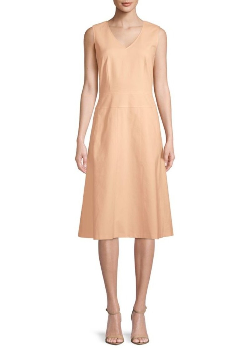 Lafayette 148 Emlia Sleeveless Day Dress