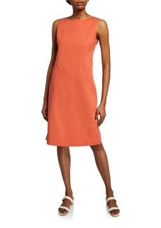 Lafayette 148 Ensley Sleeveless Fundamental Bi-Stretch Dress
