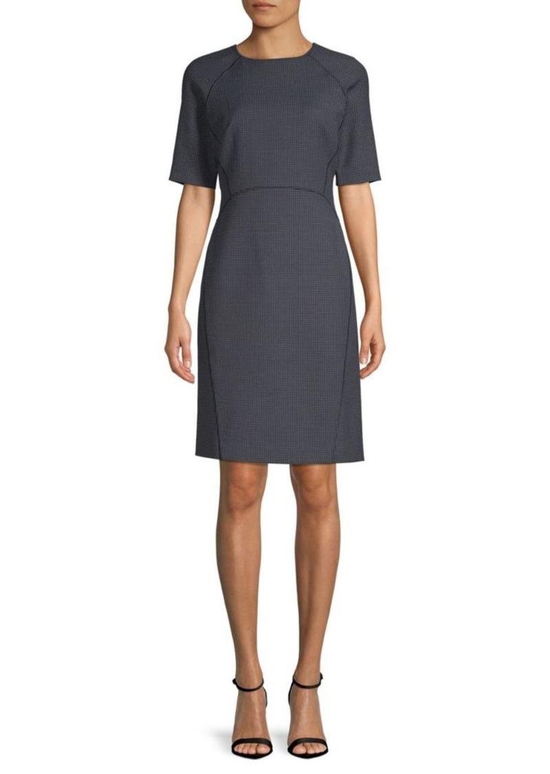 Lafayette 148 Faryn Short-Sleeve Dress