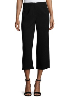 Lafayette 148 Finesse Crepe Cropped Pants