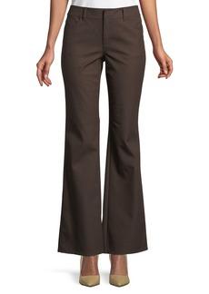 Five-Pocket Flare Jeans. Espresso