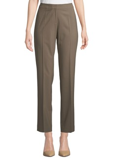 Lafayette 148 Flat-Front Stretch Pants