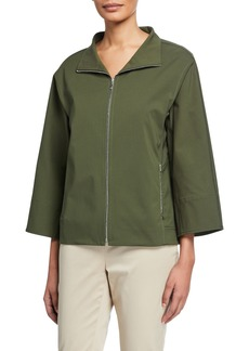 Lafayette 148 Ford Bi-Stretch Fundamental Jacket