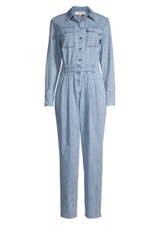 Lafayette 148 Franklin Denim Jumpsuit