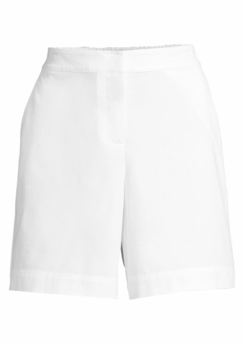 Lafayette 148 Fulton Wide-Leg Shorts