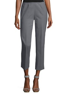 Lafayette 148 Fundamental Bi-Stretch Stanton Cropped Pants