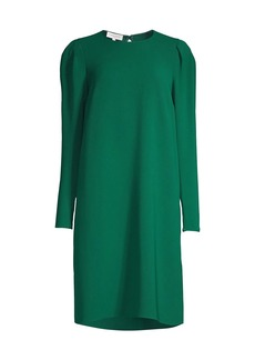 Lafayette 148 Gia Long-Sleeve Shift Dress