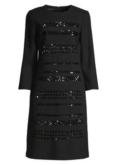 Lafayette 148 Giovanetta Embellished Dress