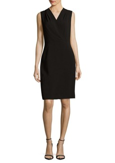 Lafayette 148 Graceton Solid Sleeveless Dress