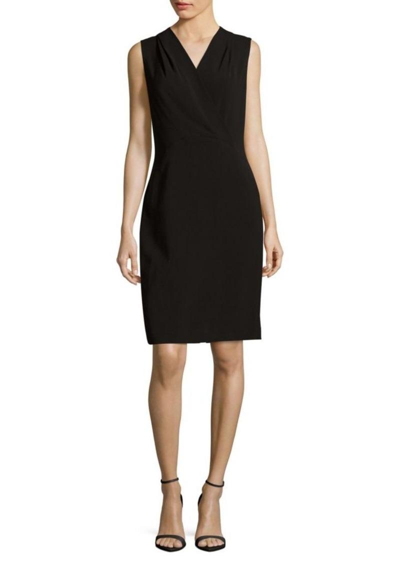 Lafayette 148 Graceton Solid Sleeveless Dress