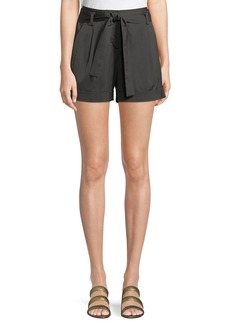 Lafayette 148 Greenpoint Urbane Satin Cloth City Shorts