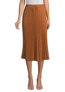 Lafayette 148 Gwenda Plissé Knit Skirt