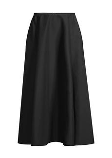 Lafayette 148 Helena A-Line Midi Skirt