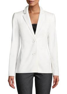 Lafayette 148 Henning Two-Button Stretch-Wool Jacket