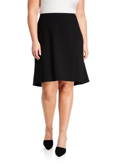 Lafayette 148 High-Low Knit Skirt