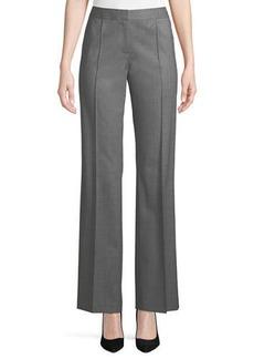 Lafayette 148 High-Rise Menswear-Style Pants