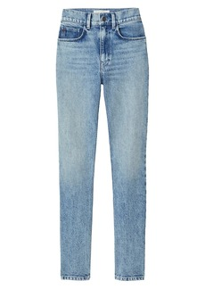 Lafayette 148 High-Rise Straight Jeans