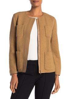 Lafayette 148 Holland Fleece Jacket