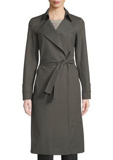 Lafayette 148 Inna Belted Trench Coat