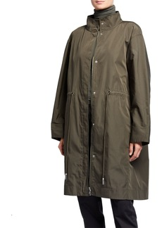 Lafayette 148 Jamyson Terrace Tech-Cloth Jacket