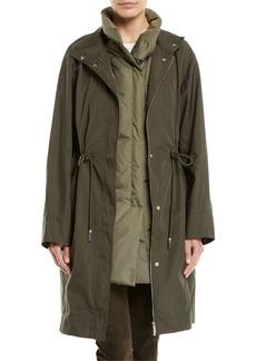 Lafayette 148 Jamyson Terrace Tech-Cloth Jacket