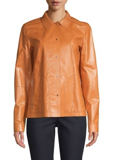 Lafayette 148 Jaren Leather Jacket