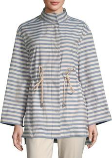 Lafayette 148 Jayna Striped Jacket