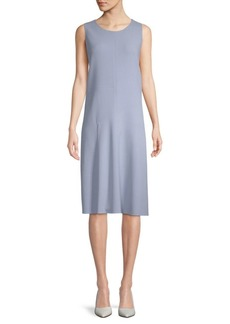 Lafayette 148 Jenilee Arch Sleeveless Dress