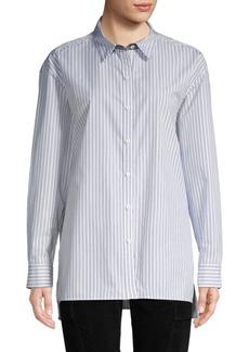Lafayette 148 Jessie Striped Shirt