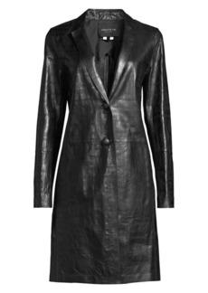 Lafayette 148 Jobelle Lambskin Leather Jacket