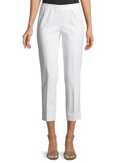 Lafayette 148 Jodhpur Cloth Cropped Pants  Ink