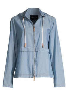 Lafayette 148 Joe Chambray Jacket