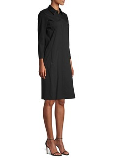 Lafayette 148 Juniper Cotton Shirtdress