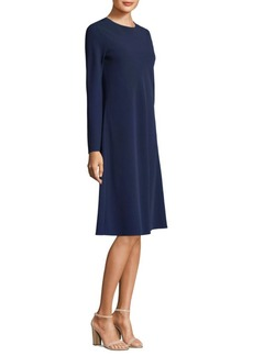 Lafayette 148 Kalitta Bell-Sleeve Dress