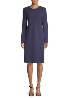 Lafayette 148 Kalitta Long-Sleeve Shift Dress