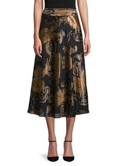 Lafayette 148 Kamara Paisley Skirt