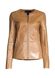 Lafayette 148 Kayla Leather Jacket