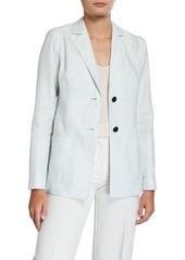 Lafayette 148 Kenley Linen/Cotton Jacket
