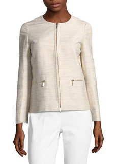Lafayette 148 Kerrington Striped Jacket