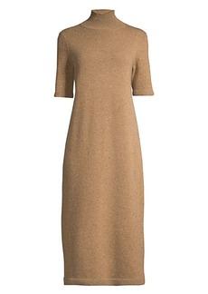 Lafayette 148 Knit Turtleneck Midi Dress