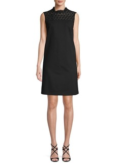 Lafayette 148 Lace Shift Dress