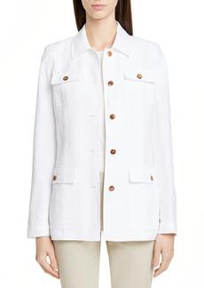 Lafayette 148 Lafayette 138 New York Tamaya Metropolis Linen Blend Jacket