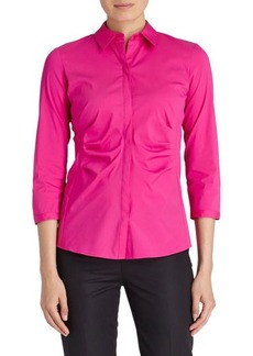 Lafayette 148 New York Leigh 3/4-Sleeve Blouse