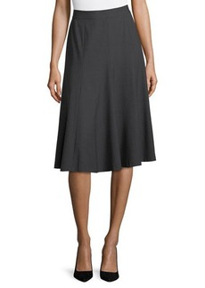 Lafayette 148 New York A-Line Swingy Skirt