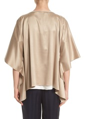 Lafayette 148 New York Abbot Silk Blouse
